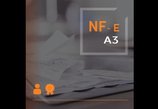 Certificado Digital para Nota Fiscal Eletrônica A3 (NF-e A3)