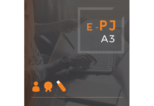 Certificado Digital para Pessoa Jurídica A3 de 18 meses em token para ME/EPP/MEI (e-PJ A3)