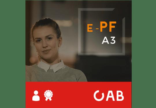 Certificado Digital para OAB (e-PF A3)  3 anos